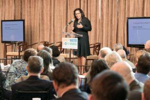 Keynote speaker Kishia Powell